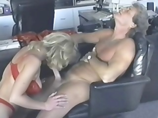 breasty blonde kc williams eats his rod and