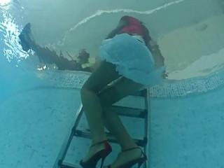 lesbo d like to fuck sluts having fun in the pool