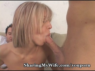 sexy wife loves pecker friction