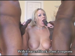 white wifey drilled by darksome paramours