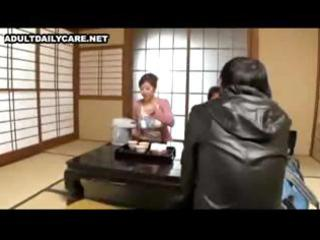 japanese wife with large whoppers receives her