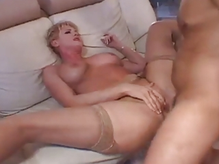 loud immodest talking mom needs youthful cock