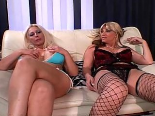 lesbian milfs love to share toys