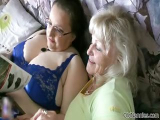 concupiscent granny loves having lesbo sex part6