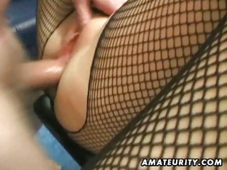 non-professional milf homemade anal with creampie